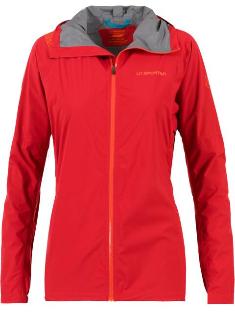 La Sportiva Run - Chaqueta Running Mujer - rojo
